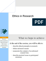 ethicsinresearch