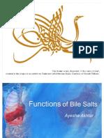 Functions of Bile Salts