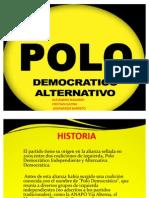partido, Polo Democratico Alternativo