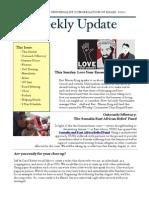 Weekly Update 2011.18.8