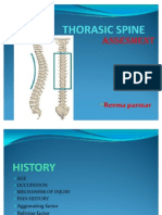 Thorasic Spine