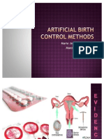 Artificial Birth Control Methods[1]
