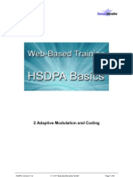 2. HSDPA Adapt. Modulat and Coding
