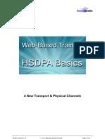 4. HSDPA New Transport & Physical Channels