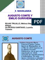 DIapositiva de Augusto Comte