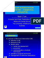 Minimum Intervention Tooth Remineralization