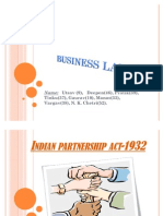 Indian Partnership Act-1932
