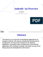 Android an Overview