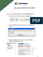 Firmware Du Modem Sagem F@St 1201 V2