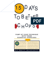 15 Days to Better Chops 1