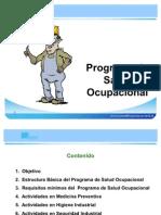 Programa de Salud Ocupacional