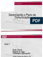 Gerenciando o Plano de Comunicacao_SLIDES_2007