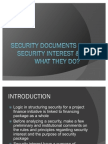 Security Documents