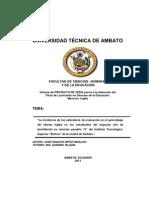 Tesis -Estandares de Evaluacion Aprendizaje_JIOH