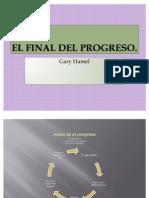 El Final Del Progreso