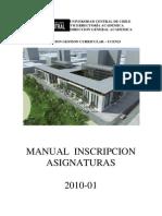Manual Inscripcion Asignaturas