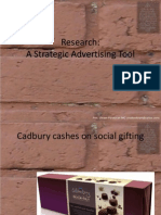 6 Research a Strategic Advertising Tool