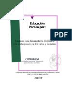 Tecnicas Expresion y Participacion de Los Ninos y Las Ninas.