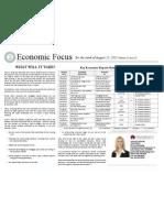 Economic Focus August 15, 2011
