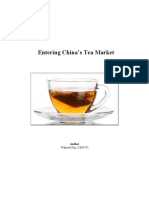Entering China's Tea Market