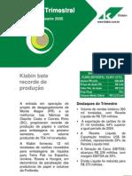 Release Klabin 2T05