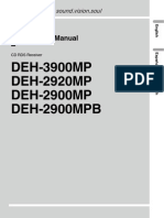Deh-2900mp Manual en de Es