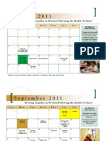 Bishop Flaget 2011-2012 School Calendar