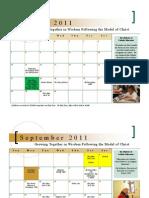 Bishop Flaget 2011-2012 School Calendar