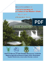 Live Gene Banking (LGB) of Fishes of the Western Ghats, INDIA, NBFGR