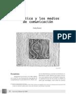 La ética Medios Comunicación Freddy Alvarez