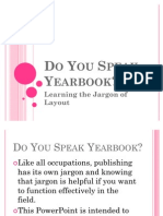Do You Speak Yearbook