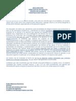 Declaración DIRECTOR DE ESCUELA - CACC UC