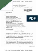 PURPURA v SEBELIUS (THIRD CIRCUIT) - PRO SE REPLY BRIEF on behalf of Appellants Donald R. Laster, Jr. and Nicholas Purpura - Transport Room 8-17-11