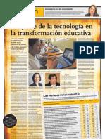 El aporte te la tecnología en la transformación educativa