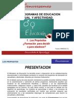 Programas ESA-Propositos PASA