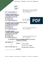 LIBERI v BELCHER, et al. (N.D. TX) - 186.1 - # 1 Plaintiffs Appendix - gov.uscourts.txnd.205641.186.1