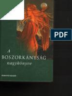 Boszorkányság nagykönyve