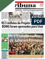 JORNAL TRIBUNA - EDIÇÃO 289 - AGOSTO DE 2011