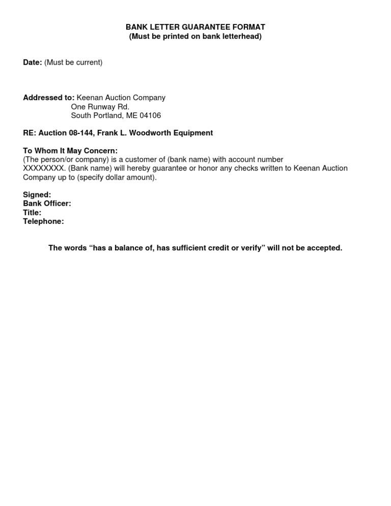 Bank letter guarantee format thecheapjerseys Gallery
