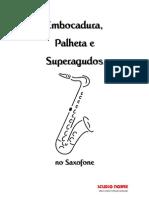Sax - Embocadura Palheta e Superagudos No Saxofone