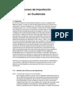 Procesos de Importacion en Guatemala