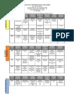 calendario de examenes parciales1SEM2011-2012