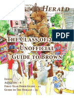 Class of 2015 Unofficial Guide to Brown