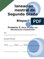 2do Grado - Bloque I - Proyecto 3