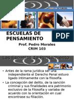 ESCUELAS DE PENSAMIENTO