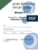 3er Grado - Bloque I - Proyecto 1