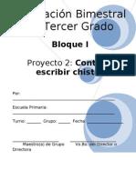 3er Grado - Bloque I - Proyecto 2