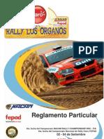 Reglamento Particular Rally Los Organos
