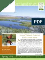 Wood River Land Trust Spring Newsletter 2011