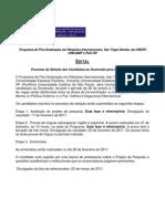 Edital Doutorado 2011